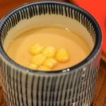 銀座天一 - 茶碗蒸し(梅)