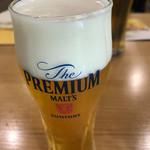 サントリー 京都ビール工場 - ドリンク写真:泡の美味しいこと。