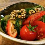 72146727 - 夏野菜のサラダ