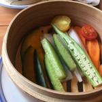 日和食堂 - 蒸し野菜