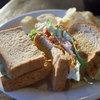スプーンカフェ - 料理写真:B.L.E.T.サンドイッチ