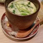 おおがみ - 2017/8 茶碗蒸し520円 美味しいね。熱っ!