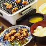 もりもり食堂 - とり焼き 若 味噌 セット