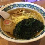 ラーメンめん丸 - 料理写真:しょうがラーメン650円