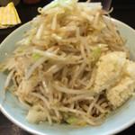 ラーメン マシンガン - 汁なしポン酢そば(並)