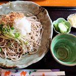 さゝみ乃 - 料理写真:さゝみ乃(おろしそば820円+大盛り340円増)