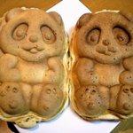手作りの店 パンダ - 左がクリーム・右が餡子
