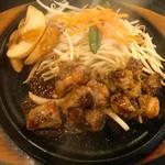 肉のはせ川 - サイドヒレステーキ(100㌘¥850)