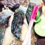 北新地個室 松六 - 季節魚の西京焼き