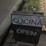 cafe La CUCINA - この看板が目印♪