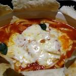 oudonyarurio - 見てみて、チーズいっぱいのってます。