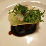 礼華 青鸞居 - あさの豚と長芋の黒酢ソース