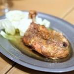うどん酒場 香川一福 - 香川名物 骨付き鶏 もも焼き オリジナル