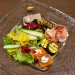Ristorante KISAKU - 前菜5種盛り合わせはお得です!