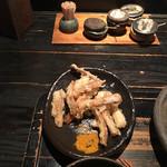 山元麺蔵 - ごぼう天とカレー粉