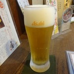 味のそば兵衛 - 生ビール