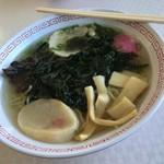 ノシャップ食堂 - わかめラーメン(塩) 800円税込