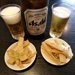 72158805 - 【2017.8.27(日)】瓶ビール580円