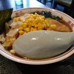 72158808 - 【2017.8.27(日)】特製川越らーめん(並盛)750円