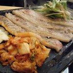 龍陣 - 厚切りのお肉