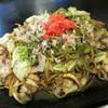 風月 - 料理写真:いか・ぶた・えび野菜焼きそば 940円