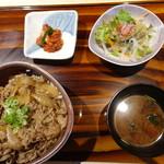 すき焼き 牛しゃぶ 松重 - 限定15食、朝姫丼@1,000