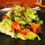 シャンパン食堂 - 菜園サラダ