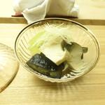 懐石料理 桝田 - 蒸し鮑