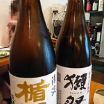 日本酒バル YODARE - 楯野川と獺祭