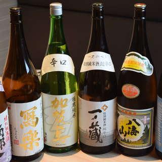 【種類豊富】珠玉の日本酒&焼酎で最高の1杯を…