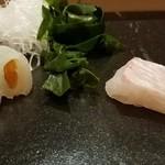 甚六鮨 - ヤリイカ 真鯛