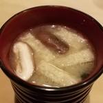 甚六鮨 - 味噌汁