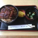 72165918 - うなぎ丼(上) ご飯大盛り(+50円)
