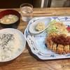 キッチンフレンズ - 料理写真:「Aランチ Bigチキンカツ」(700円)