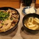 伊々 - 牛照り焼き丼800(税込)