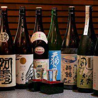 季節ごとに変わる《日本酒》