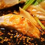 中華旬彩 森本 - 森本名物 よだれ鶏ランチ(よだれ鶏)