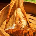 中華旬彩 森本 - 職人が手作りの点心4種(中華ちまき)