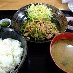 味民 - 日替定食 チンジャオロースー 1