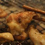 ホルモンチョップ - 鶏肉ジューシー