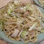 塩山館食堂 - 料理写真:炒麺