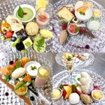 ア・ターブル・エスプリ - 料理写真:ESPRITランチ デザート盛合せ