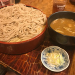 角清 - 冷やしカレー蕎麦