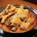 韓国家庭料理 済州 - 大人気!チーズ豚カルビ!