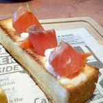 町なかファームカフェ - 「サーモンチーズ」