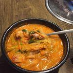 韓国家庭料理 済州 - 鴨湯(オリタン)