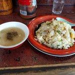 南ばん亭 - スープ付き