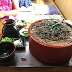 そば処 あお木 - ざる蕎麦 950円