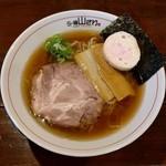 らー麺 山さわ - あっさり煮干(700円)