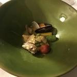 グリシーヌ - 石川県産のアマダイ サフランの香りを閉じ込めたココット焼き
